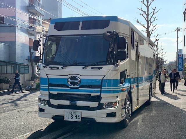 胃部X線デジタル検診車①